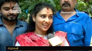 Suresh Gopi's family in Thrissur for NDA Election Campaign | Election 2019