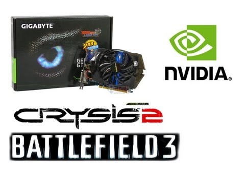 GTX 650 2gb-Test: Crysis 2-Battlefield 3 (HD)