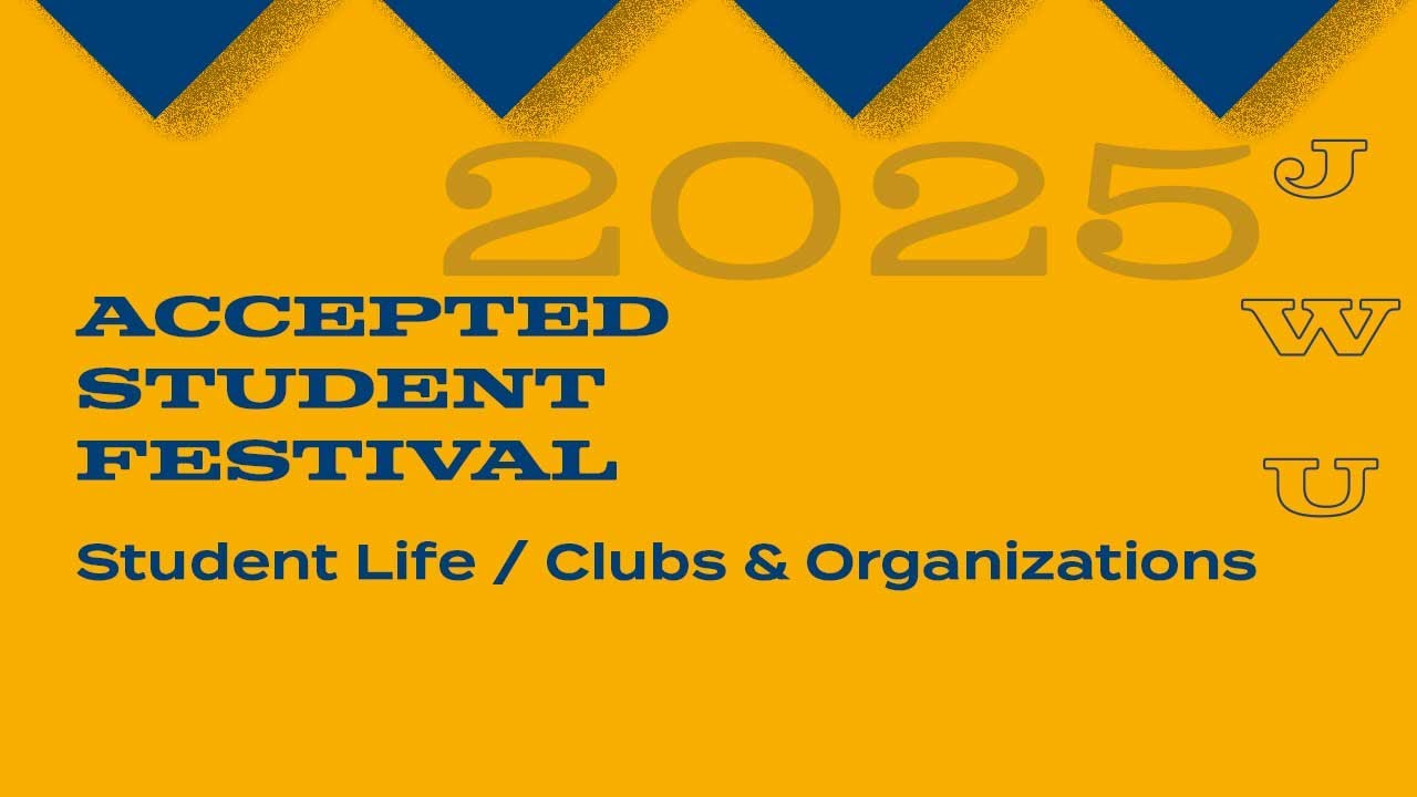 JWU Accepted Student Festival: Student Government thumbnail