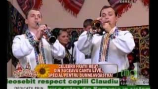 Fraţii Reuţ 2010 LIVE EtnoTv - Sârba Militarului