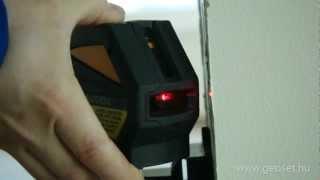 Fukuda EK118R vonalrajzoló lézer videó - GeoSet Kft.
