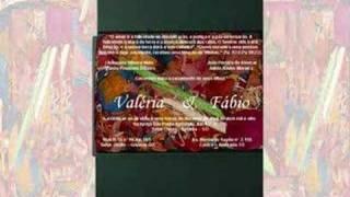 Convite de Casamento - Valéria & Fábio