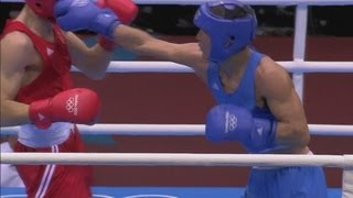 Boxing Men's Welter (69kg) Semifinals - Russia v Kazakhstan Full Replay - London 2012 Olympics