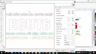02. HD Xếp file tự động vào khổ vật liệu bằng eCut