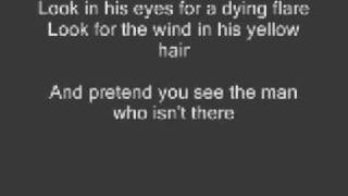 Oren Lavie - The Man Who Isn't There (lyrics)