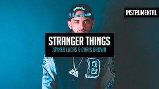Joyner Lucas & Chris Brown - Stranger Things (Instrumental) (Good Quality)