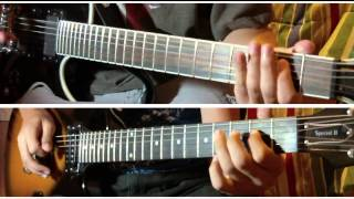 Linkin Park - Castle of Glass Guitar Cover (Dual)