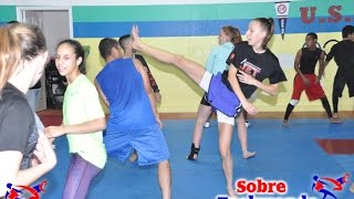 Very Fun Agility Training for Taekwondo (part 1)