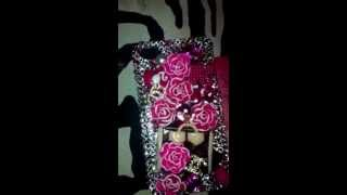 Big Ang Bling lips barbie lv cell phone case VH1 Bling Bling