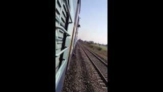 journey by train - MahaRashtra Pune  India extreme video