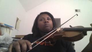 "Janelle Monae ""Yoga"" Violin Cover Snippet"