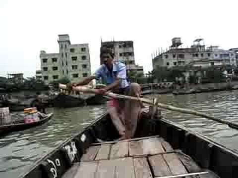 Boat ride in Dhaka