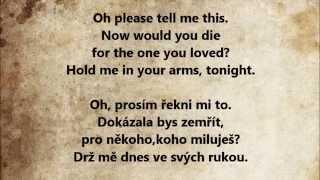 Enrique Iglesias - Hero / český a anglický Lyrics