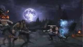 Skrillex   Reptile's Theme (Mortal Kombat 9 Montage) HD