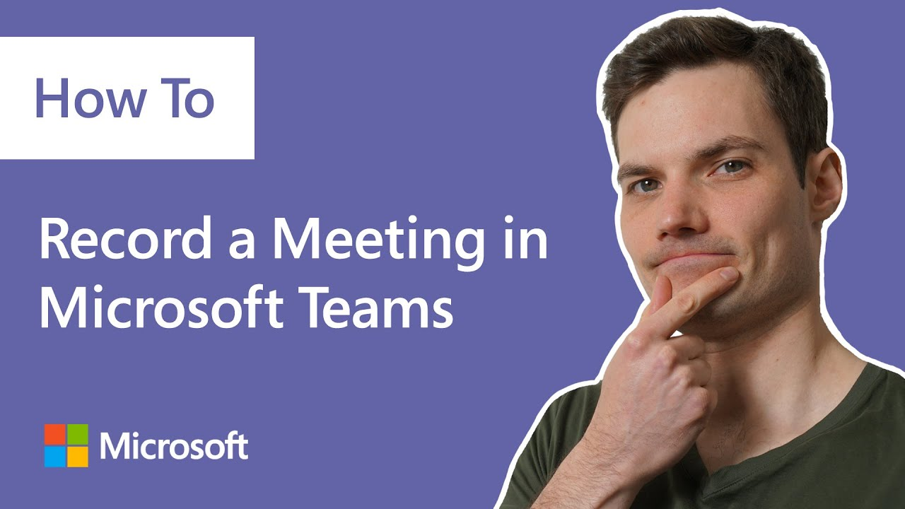How to record a meeting in Microsoft Teams