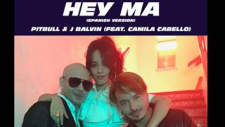 Hey Ma Pitbull J-Balvin ft Camila Cabello BASS BOOSTED