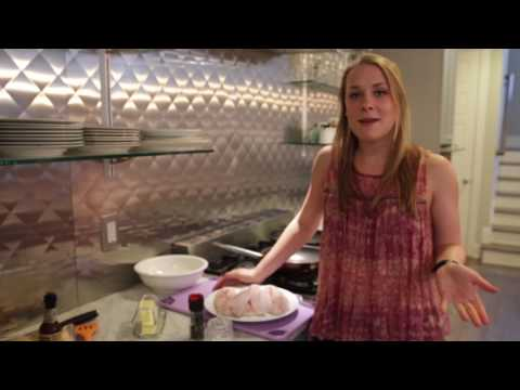 In the 5th episode of Dank Dishes, Delaney shows how to make Trout Almondine and a strawberry margarita pie.