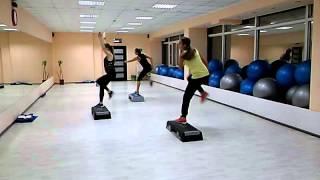 Степ аеробика 2. Фитнес