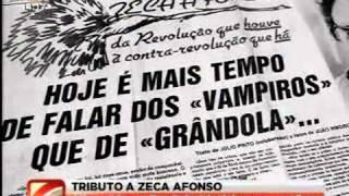 Tributo a Zeca Afonso (ZECA SEMPRE) com álbum O Que Faz Falta 25-11-2010 SIC NOTICIAS