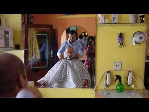 Tahir Shah's Local Barber in Casablanca
