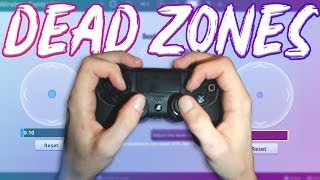 New Dead Zones Explained *In Depth* (Claw Player) - Fortnite