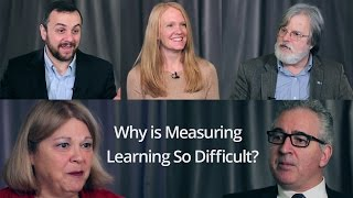 Measuring Learning?