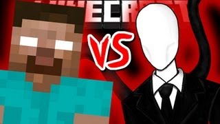 Minecraft HEROBRINE vs SLENDERMAN!
