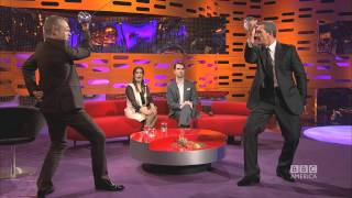 ANTONIO BANDERAS & SALMA HAYEK: Sword-Fighting with Graham (The Graham Norton Show)