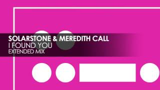 PREVIEW: Solarstone & Meredith Call - I Found You (Extended Mix) [Black Hole Recordings]