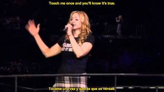 Madonna - Crazy For You - Live ReInvention Tour (Subtitles English-Spanish)