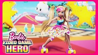 😍💖 Trailer Comercial da Boneca Barbie no Mundo do Vídeo Game e Vídeos dos Brinquedos 🎮⛸