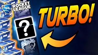 HUGE Rocket League TURBO CRATE OPENING! - Drop Shot Update! (Endo, Roulette, Mystery Decal?)