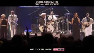 Earth, Wind & Fire and CHIC ft. Nile Rodgers: 2054 The Tour