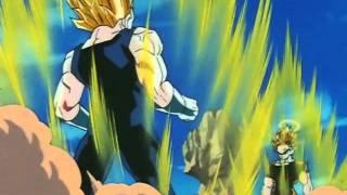 Vegeta and Goku Power Up (JPN) [HD]