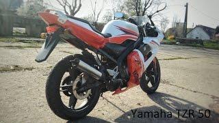 Yamaha TZR 50 bemutató videó