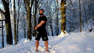 Arm swings standing posture awareness