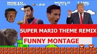 Super Mario Bros. Theme Remix - FUNNY MONTAGE