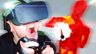 SIT DOWN!   SuperHOT VR #2 (Oculus Rift Virtual Reality) width=