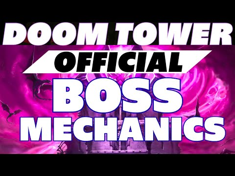 Official Doom Tower boss video breakdown Raid Shadow Legends Doom Tower boss mechanics
