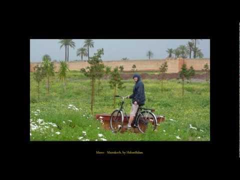 2010 Maroc   Marrakech, Avec Isabelle, Les Remparts à Vélo, La Ménara