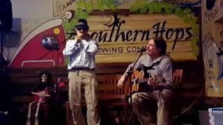 sam davis's live broadcast: Hilton & Ray @ Southern Hops Open Mic