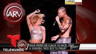 Al Rojo Vivo  | Shakira y Calle 13 | Telemundo ARV