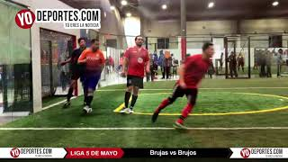 Brujas vs Brujos Liga 5 de Mayo Soccer League