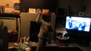 3yr old dancing to Yelawolf, Till Its Gone!