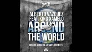 Alberto Vázquez feat King Xamelo - Around the World