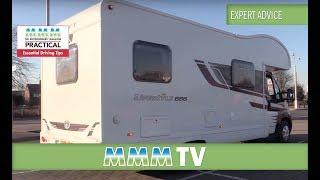 MMM TV expert advice: Motorhome driving tips