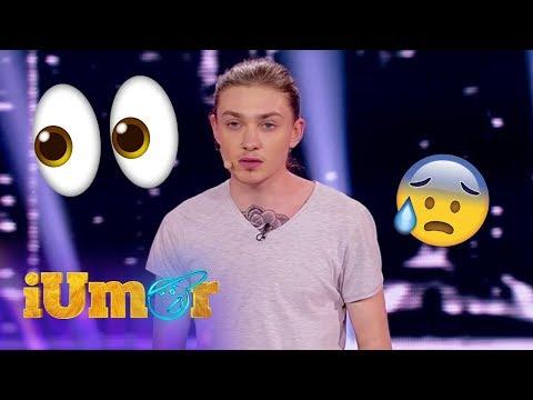 """Dima Cubreacov a făcut senzație la """"iUmor""""!"""