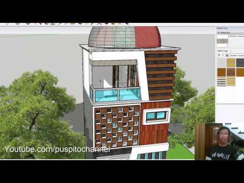 Download Video Eps 18 Desain Rumah - Ukuran 5x5m , 3Kamar Tidur, 2 Kamar Mandi, Kolam Ikan??? Wajib Anda Tonton!
