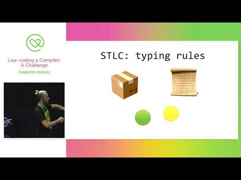 Live-coding a Compiler: A Challenge