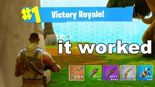 I Went Back To Season 1 Fortnite For A Day